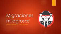 Migraciones milagrosas - Drupal Camp Costa Rica 2014!