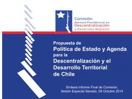 Informe Comisión Presidencial - Instituto Políticas Públicas del Norte