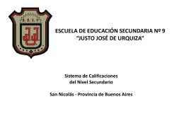 Diapositiva 1 - Justo José de Urquiza