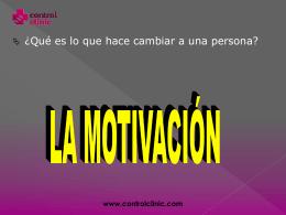 entrevista motivacional 2ª parte