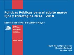 Políticas Públicas y el Desafío del Envejecimiento. Sra - PIEI-ES