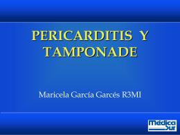 pericarditis y tamponade