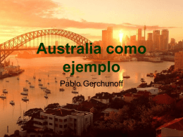 Australia como ejemplo - Campus del Colegio Yapeyú
