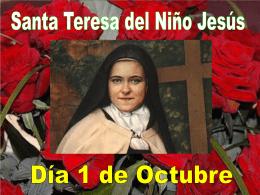Santa Teresita - Oraciones y devociones