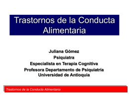 Histeria y Disociacion - Departamento de Bibliotecas Universidad