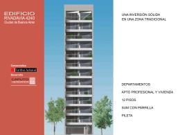 PLANTA SUM EDIFICIO RIVADAVIA 4240 Ciudad de Buenos Aires