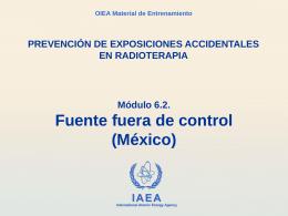 6.2 Fuente fuera de control (México)