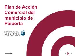 Presentación Plan de Acción Comercial del municipio de Paiporta.