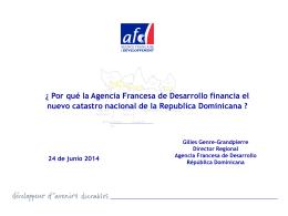 Los aportes de la Agencia Francesa de Desarrollo AFD al