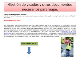 GESTION DE VISADOS Y OTROS DOCUMENTOS MIGUEL