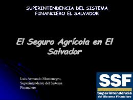 superintendencia del sistema financiero el salvador