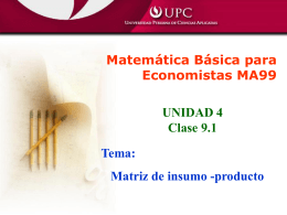 Clase 9-1(Matriz Ins.