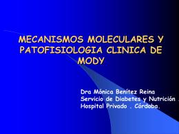 mecanismos moleculares y patofisiologia clinica