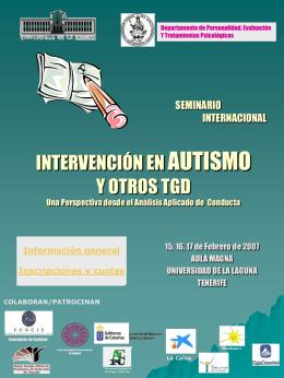 SEMINARIO INTERNACIONAL INTERVENCIÓN EN
