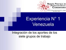 Venezuela - Federación Internacional de Fe y Alegría