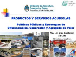 Presentación - Dirección de Acuicultura