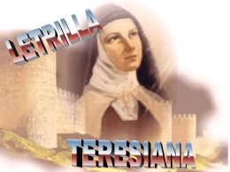 Letrilla Teresiana