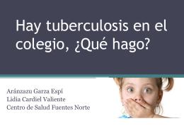 tuberculosis - Asociación Española de Pediatría de Atención