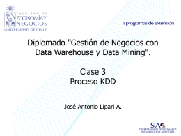 Aplicación de proceso KDD. Caso Práctico