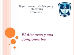 Teoría discursiva - Colegio SS.CC. Manquehue