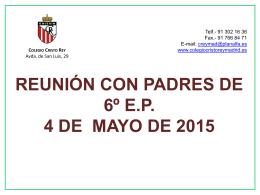Información de la LOMCE - Colegio Cristo Rey Madrid