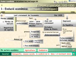 Economia i societat (1900