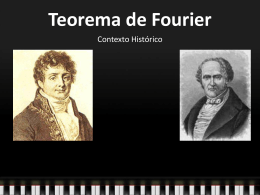El teorema de Fourier permite represerntar ondas complejas
