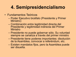 Semi-presidencialismo