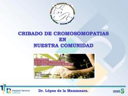 Cribado cromosomopatías en Castilla
