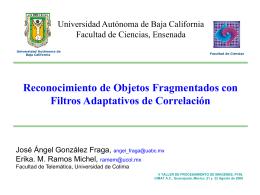 Primer Avance de tesis Tema: Métodos y algoritmos