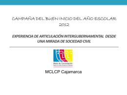 Martha Zegarra - Consejo Nacional de Educación
