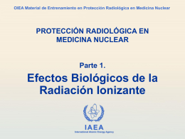 01. Efectos Biológicos - Radiation Protection of Patients