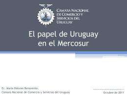 ¿Uruguay hacia el primer mundo?: lo que se hizo lo que resta por