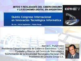 : Primer Estudio Anual del Comercio Electrónico.