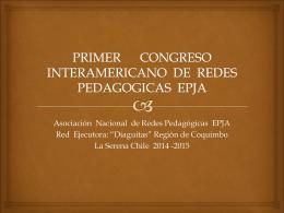 PRIMER CONGRESO INTERAMERICANO DE REDES
