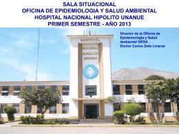 PRIMER SEMESTRE 2013 - Hospital Nacional Hipólito Unanue