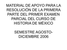 material de apoyo para la resolución de la primera parte del primer
