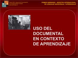 Jorge Hernández- Andrea Matte, Centro EAC