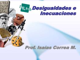 1.5 Desigualdades_e_Inecuaciones