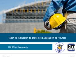 Hit-Office - Taller de Evaluación de Proyectos (2)
