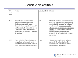 Solicitud - ICC Chile