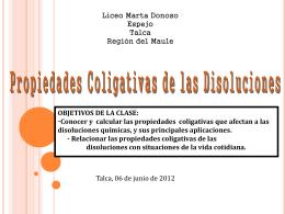 Propiedades Periódicas - Liceo Marta Donoso Espejo