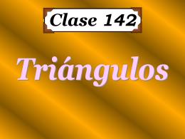 Clase 142: Triángulos