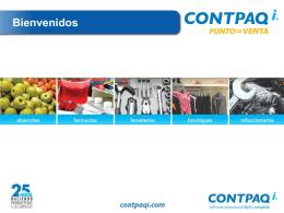 CONTPAQ i® PUNTO DE VENTA