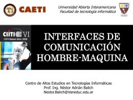 Presentación - Universidad Abierta Interamericana