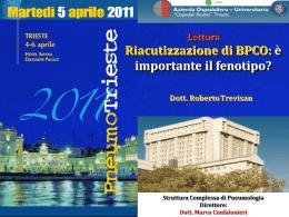Riacutizzazione di BPCO: è importante il fenotipo?