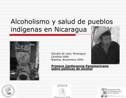 Alcoholismo y salud de pueblos indígenas