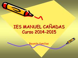 charla padres 6º - IES Manuel Cañadas