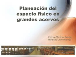 """Distribución de los acervos en la biblioteca """"Dr. Jorge - ReI"""