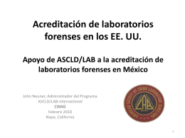 ASCLD/LAB Accreditation Standards